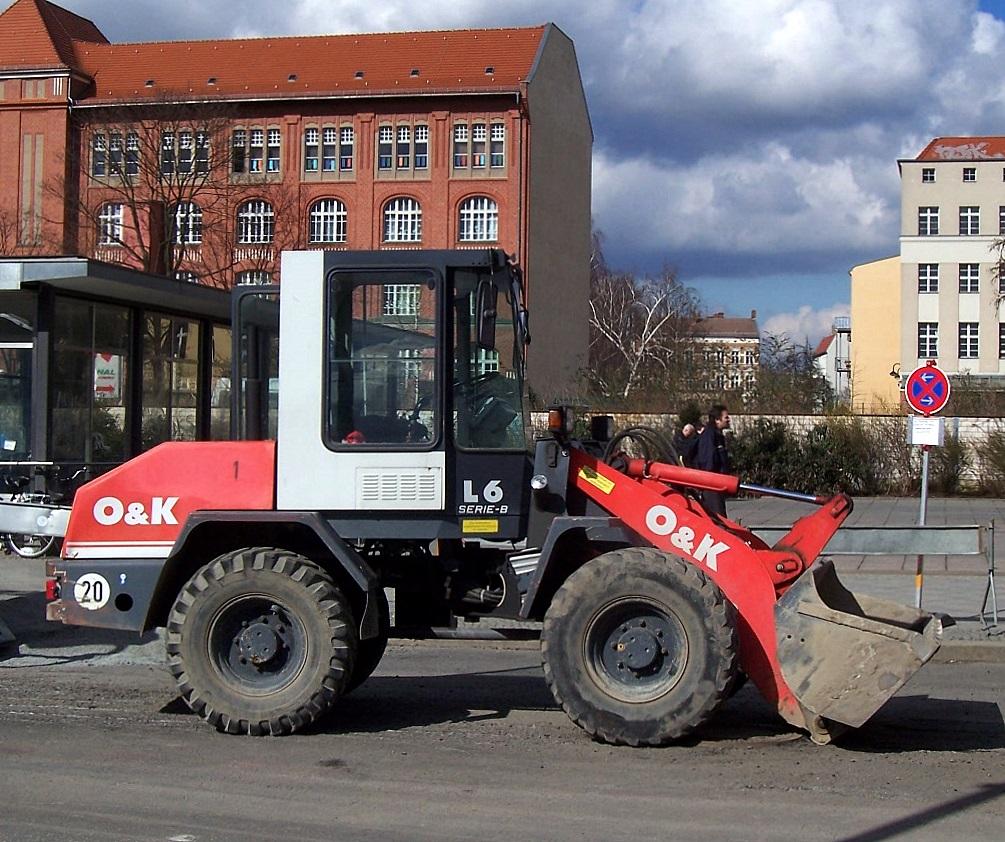 O&k radlader l6