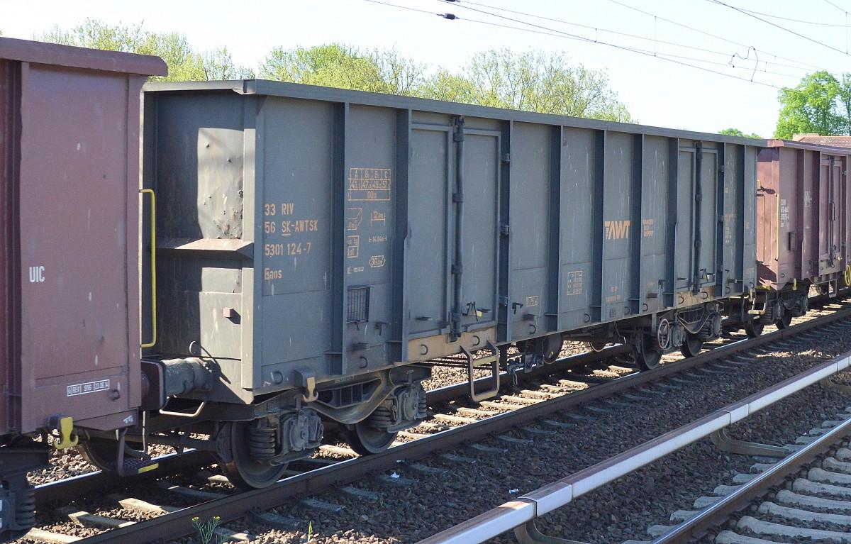Slowakischer offener Drehgestell-Güterwagen vom Einsteller ADVANCED ...