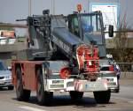 TEREX DEMAG/86700/ein-terexdemag-ac30city-der-fa-karl Ein TEREX/DEMAG AC30CITY der Fa. Karl Altendorff aus Berlin, Berliner Stadtautobahn Höhe Knobelsdorffstr. am 24.04.09
