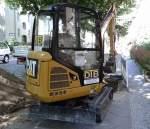 caterpillar-cat/346974/ein-cat-3017d-minibagger-der-fadtb Ein CAT 301.7D Minibagger der Fa.DTB am 06.06.14 Berlin-Pankow.