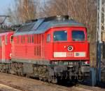 BR 233/130329/die-233-616-2-gezogen-von-155 Die 233 616-2 gezogen von 155 117-5 Richtung Bernau in einem Lokzug, 29.03.11 Berlin-Karow.