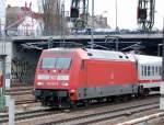 BR 101/129040/101-063-6-mit-ic-richtung-berlin 101 063-6 mit IC Richtung Berlin Hbf. (tief) am 25.03.11 Berlin Beusselsstr.