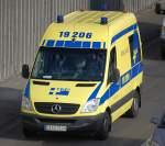 adg---allgemeine-ambulanz-dienst-gmbh-berlin/103794/mb-sprinter-krankentransportfahrzeug-der-fa-adg MB Sprinter Krankentransportfahrzeug der Fa. ADG aus Berlin, 11.09.09 Berliner Stadtautobahn Höhe Knobelsdorffstr.