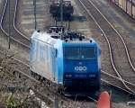 BR 185.5/80676/alpha-trains-leasinglok-185-522-0-bombardier Alpha Trains Leasinglok 185 522-0 (Bombardier, Bj.2003) mit LTH-Logo zu disem Zeitpunkt noch in Diensten der OHE, 06.04.09 Berliner Westhafen.