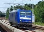 BR 185.5/81732/auch-einst-in-ragrbh-diensten-diese Auch einst in RAG/RBH Diensten, diese Alpha Trains Leasinglok hier mit der Nr. 222/185 CL-009 (91 80 6185 509-7 D-, Bj.2001), 19.07.07 Berlin-Buch.
