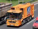 Mull- und Spezialentsorgungsfahrzeuge/137421/mb-econic-2629-muellentsorgungsfahrzeug-der-bsr MB ECONIC 2629 Müllentsorgungsfahrzeug der BSR am 04.05.11 Berliner Stadtautobahn Höhe ICC.
