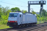 ITL E 186 136 [NVR-Number: 91 80 6186 136-8 D-ITL] am 10.05.16 Berlin-Pankow.