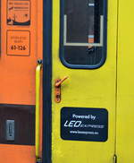 diverse-loks-und-bahnfahrzeuge/588010/hier-sieht-man-wer-eigentlich-federfuehrend Hier sieht man wer eigentlich federführend inzwischen für die Bahnfahrzeuge der neuen Locomore verantwortlich ist, nämlich das tschechische Unternehmen LEOEXPRESS, auf allen Wagen als Firmenlogo befestigt, 02.11.17 Bf. Berlin-Lichtenberg.