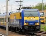 Diverse Loks/80436/interconnex-mit-146-522-8-91-80 InterConnex mit 146 522-8 (91 80 6146 522-8 D-VCD, Bj. 2005) nach Leipzig, 12.05.10 Berlin-Blankenburg.